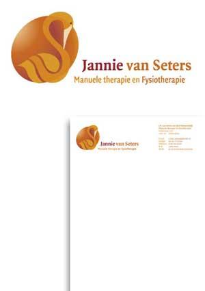 Logo en huisstijl Jannie van Seters