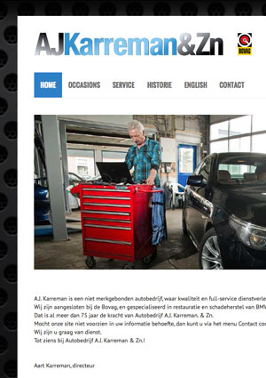 Garage Karreman en Zn.