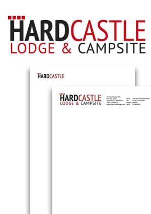 Logo en huisstijl Hardcastle