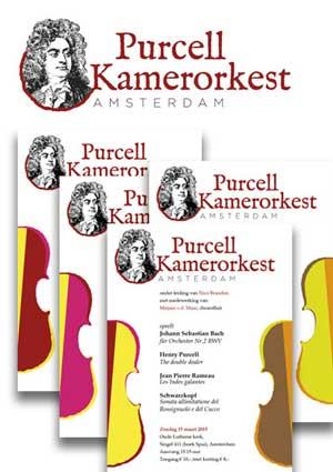 Logo en huisstijl Purcell Kamerorkest