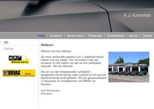 Studio Koen Verbeek Website Wordpress