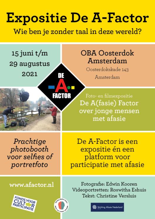 Flyer De A-factor Stdio Koen Verbeek